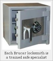 Another safe opened by a Brucar specialist