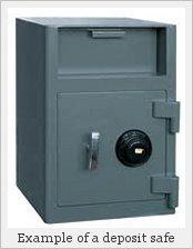 A deposit safe