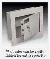 A wall safe